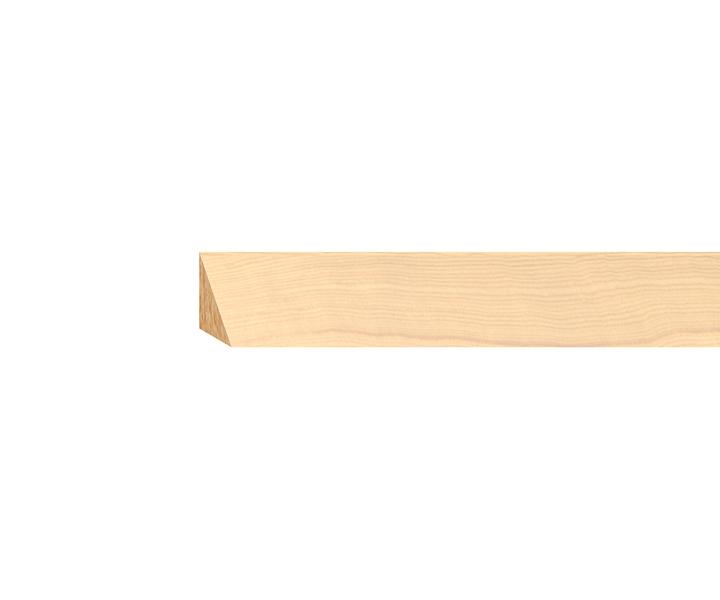 dreikantleiste massiv nadelholz roh 14mm dreikantleisten holzleisten. Black Bedroom Furniture Sets. Home Design Ideas